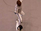 2010-12-15 Fencing Action at EFC